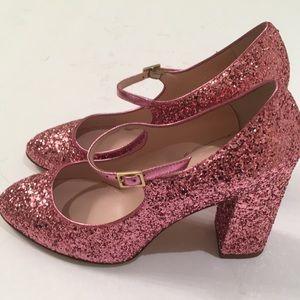 NWOB Kate Spade Glitter Mary Jane Pumps - Size 6